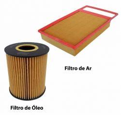 Troca de oleo, filtro de oleo e filtro de ar Selenia